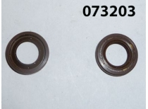 Сальник вала привода насоса KM186F/Lever shaft oil seal